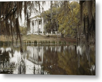 The Greenwoood Plantation Home Metal Print by J. Baylor Roberts