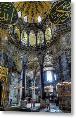 The Hagia Sophia Metal Print