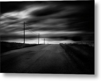 Metal Print featuring the photograph The Highway by Dan Jurak