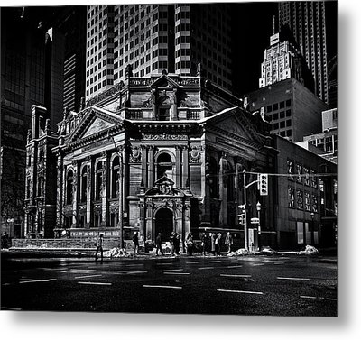 The Hockey Hall Of Fame Toronto Canada Metal Print by Brian Carson