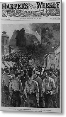 The Homestead Steel Strike Riot Metal Print by Everett