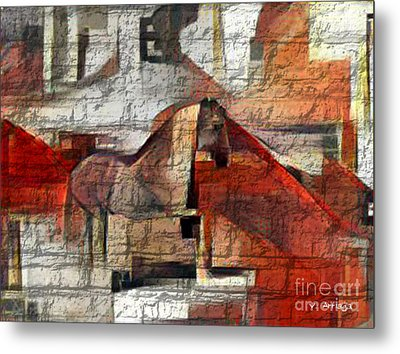 The Horse  Metal Print by Victor Arriaga