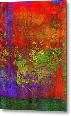 Metal Print featuring the painting The Human Spirit by Angela L Walker