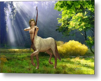 The Hunter Metal Print by John Edwards
