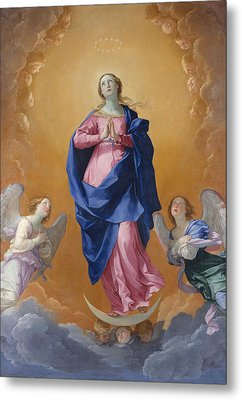 The Immaculate Conceptio Metal Print by Guido Reni