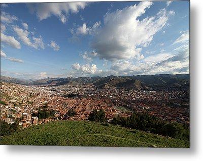 The Inca Capital Of Cusco Metal Print by Aidan Moran