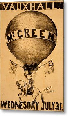 The Incredible Mr. Green Metal Print
