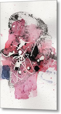 The Inexplicable Ignition Of Time Expanding Into Free Space Phase Two Number 14 Metal Print by Mark M  Mellon