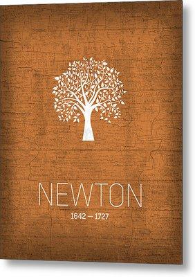 The Inventors Series 010 Newton Metal Print