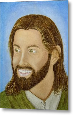The Joy Of Christ Metal Print