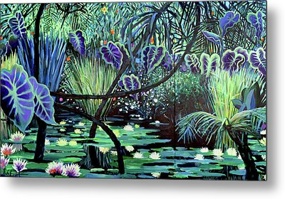 The Jungle Metal Print by Geoff Greene