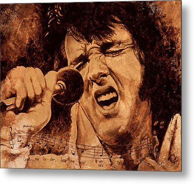 The King Metal Print by Igor Postash