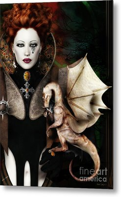 The Last Dragon Metal Print by Shanina Conway