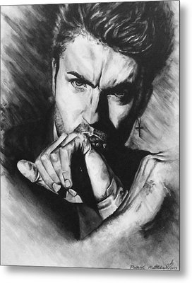 The Late Great George Michaels Metal Print