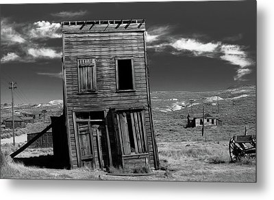The Leaning Tower Of Bodie Metal Print by Marius Sipa