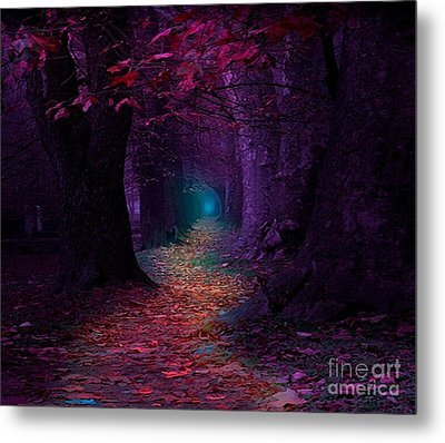 The Light At The End Metal Print