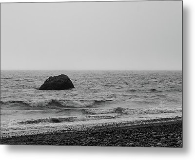 The Lone Rock Metal Print