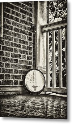 The Lonely Banjo Metal Print by Bill Cannon