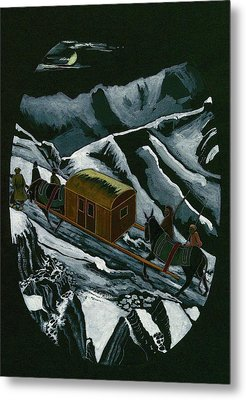 The Long Winter Journey To Baghdad Metal Print