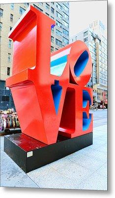 The Love Sculpture Metal Print by Paul Ward