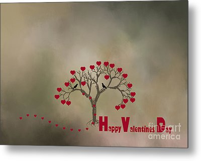 Metal Print featuring the photograph The Love Tree by Darren Fisher
