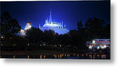 Metal Print featuring the photograph The Magic Kingdom Entrance by Mark Andrew Thomas