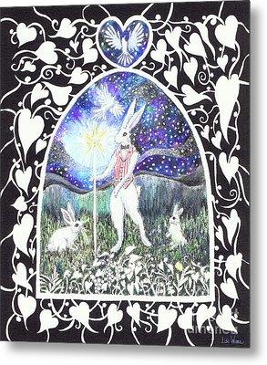 The Magician Metal Print by Lise Winne