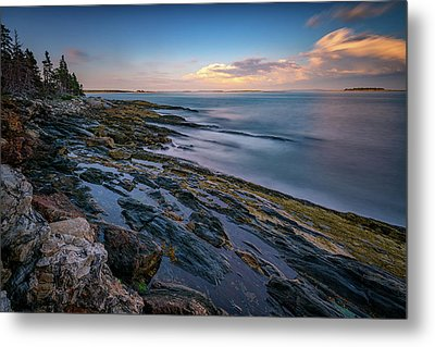 The Maine Coast Metal Print by Rick Berk