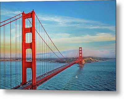 The Majestic Metal Print by Az Jackson