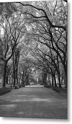 The Mall And The Poets Metal Print