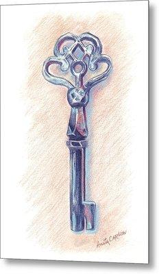 The Mistress' Key Metal Print by Anita Carden