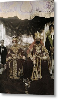 The Monarchs Haile Selassie The First Metal Print