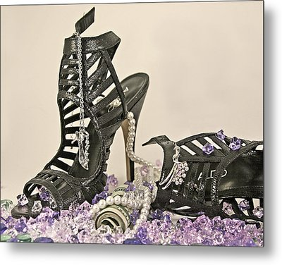 The Money Shoe Metal Print