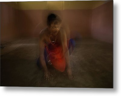 The Mutation Of The Dancer Metal Print by Lucas Dragone