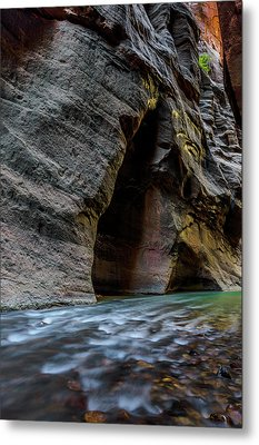 Zion Narrows Metal Print