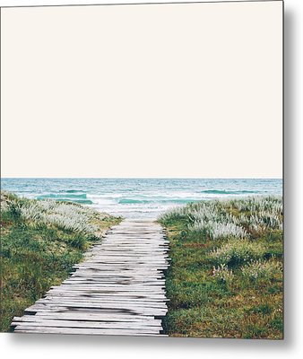 The Ocean Is Calling And I Must Go  Metal Print by Uma Gokhale
