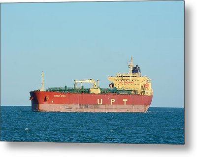Metal Print featuring the photograph The Oil Tanker Summit Africa by Bradford Martin
