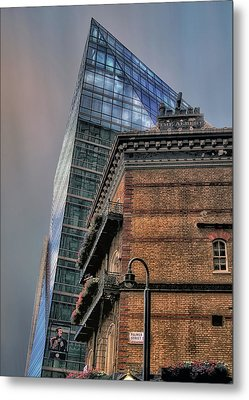 The Old And The New Metal Print by Jim Hill