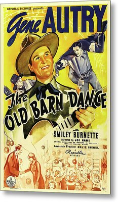 The Old Barn Dance 1938 Metal Print by Republic