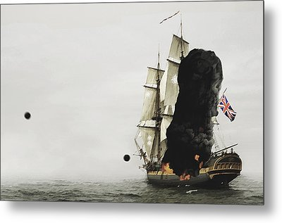 The Old Brit Metal Print by Tyler Martin