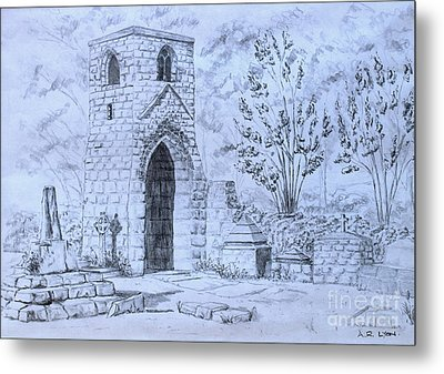 The Old Chantry Metal Print