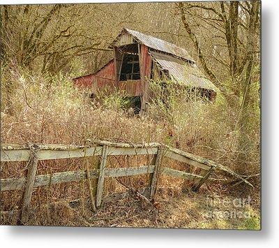 The Old Knob Creek Barn Tennessee Metal Print