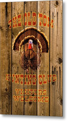 The Old Tom Hunting Club No. 2 Metal Print