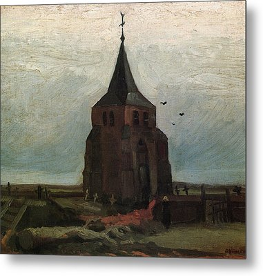 The Old Tower, 1884 Metal Print