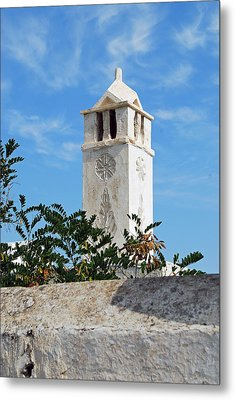 The Old Tower Metal Print by Armand Hebert