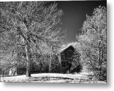 The Old Wood House Metal Print by Jeff Holbrook