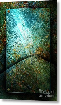 The Only Way Metal Print by Shevon Johnson