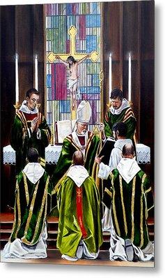 The Ordination Metal Print