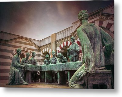 The Other Last Supper In Milan Italy Metal Print