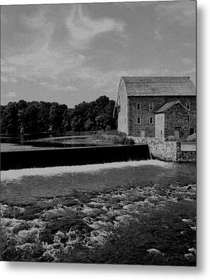 The Other Mill Metal Print by Val Arie
